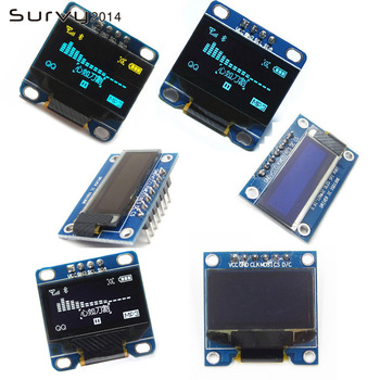 цена на 0.96/0.91 inch IIC Serial White OLED Display Module 128X64 I2C SSD1306 12864 LCD Screen Board GND VCC SCL SDA 0.96 for Arduino