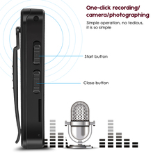 hot deal buy record dictaphone registrar camcorder audio video one touch recording camera noise reduction portable clip design hidden digital