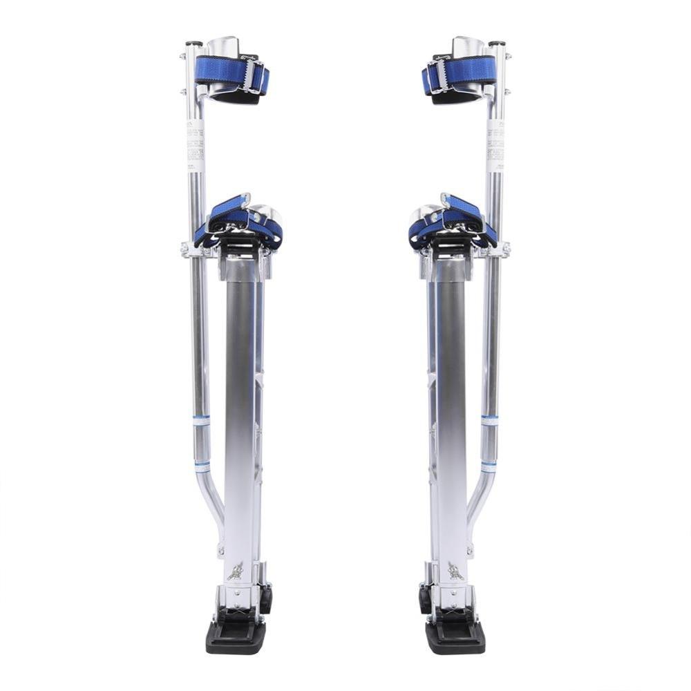 24 to 40 Inch Adjustable Drywall Stilt Aluminum Plastering Stilt Ladder Drywall Plaste Stilts for Taping Painting Painter Taping