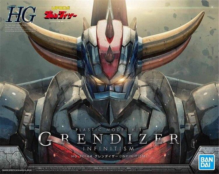 Bandai HG 1/144 UFO Robot Grendizer Infinitism Mazinger Z Gundam komórka garnitur montaż modelu zestawy figurki zabawki dla dzieci w Figurki i postaci od Zabawki i hobby na  Grupa 1