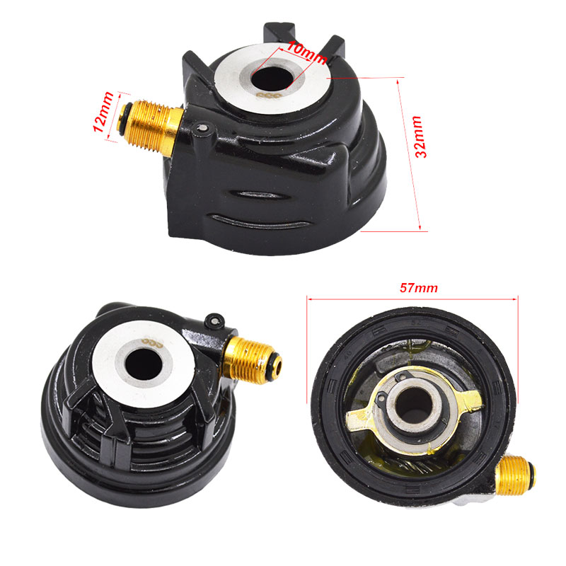 Motorcycle Speedometer Drive Gear 10mm 12mm For Yamaha ZY100 JOG100 ZY JOG 100  Speedo Meter Driven Gear Spare Parts