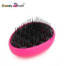 Candy Brush Plastic Egg Shape Detangling Hair Fruit Color  Anti-static Styling Tool Hairbrush