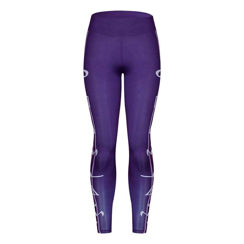 2018 Fashion Women Leggings Slim High Waist Elasticity Leggings  Printing leggin Woman Pants Leggings
