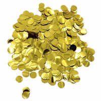 500g/lot Foil Gold Tossing Confetti 1-1.5cm Bridal Baby Shower Wedding Marriage Birthday Party Supplies Table scattered Decor