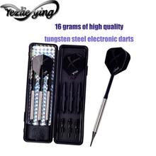 3PCS/Set of Tungsten Steel Darts Professional 16 Grams Software Aluminum Alloy Tree Beautiful Flight High Quality
