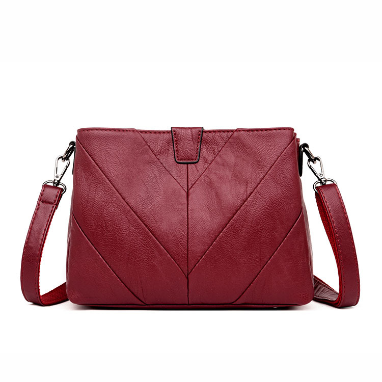 New Fashion Patchwork Shoulder CrossBody Bags Womens Genuine Leather Handbags Women Messenger Bags LadyNew Fashion Patchwork Shoulder CrossBody Bags Womens Genuine Leather Handbags Women Messenger Bags Lady
