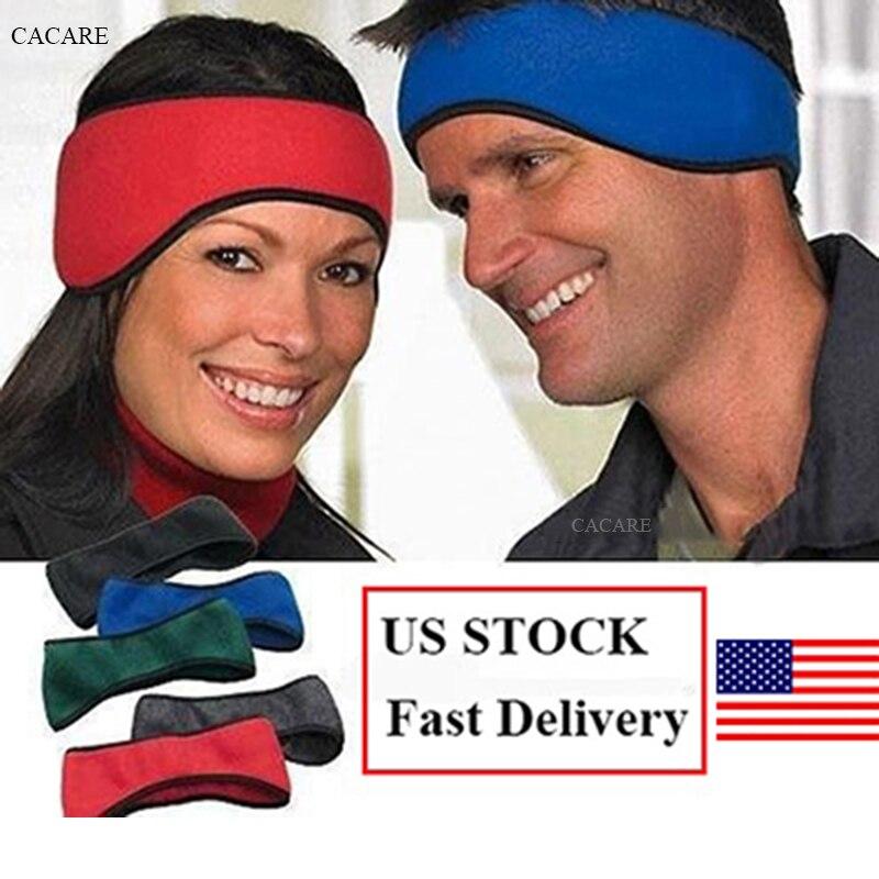 US STOCK 2pcs/lot Warm Fleece Earmuffs for Adults Sale Warm Headphones Winter Ear Muffs Ear Warmer 4 Choices Headbands Ear Cover