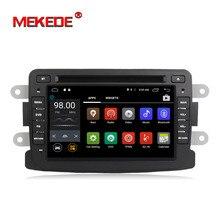 Оптовая продажа! Чистые Android 7,1 автомобиль gps Navigaton радио dvd-плеер автомобиля для Renault Duster Logan Sandero стерео центральной кассета