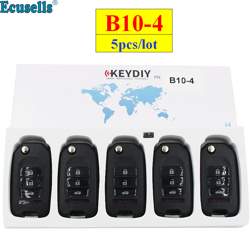 5pcs lot KEYDIY B series B10 4 B10 3 1 4 button universal KD remote control