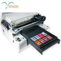 Plastic id card printer leather UV Printing Machine with CE