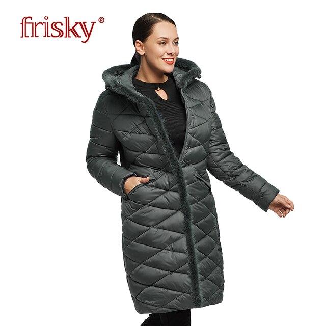 2018 Астрид зимняя куртка пальто Для женщин ветрозащитный Теплый Для женщин утолщение хлопок мягкий женский жакет FR-1890