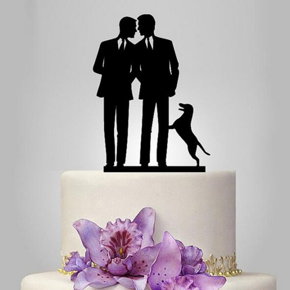 casamento topper mr & mr bolo topper