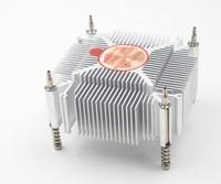 Fast Free Ship For Intel 1155 1156 1150 I3I5 CPU Pure Copper Core Radiator Square Cooling