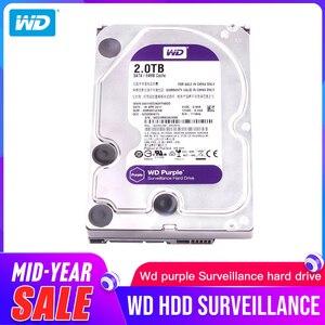 Жесткий диск Western Digital WD фиолетовый HDD для наблюдения 1 ТБ 2 ТБ 3 ТБ 4 ТБ 6 ТБ 8 ТБ 10 ТБ 1 2 ТБ SATA 6,0 ГБ/сек. 3,5