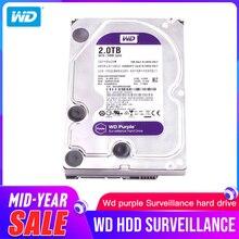 """Western Digital WD סגול מעקב HDD 1TB 2TB 3TB 4TB 6TB 8TB 10TB 12TB SATA 6.0 Gb/s 3.5 """"כונן קשיח מצלמה AHD DVR IP NVR"""