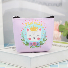 hot deal buy new cartoon animal print girls purse holder women coin wallets kids children cute dog mini change purse porte monnaie enfant