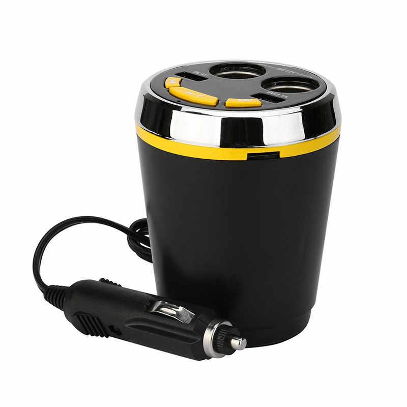 Kongyide Car charger 12V~24V 2.1A 120W USB Bluetooth LED Cigarette Lighter Kit MP3 Player Speaker 2Port USB dyproship 19j23