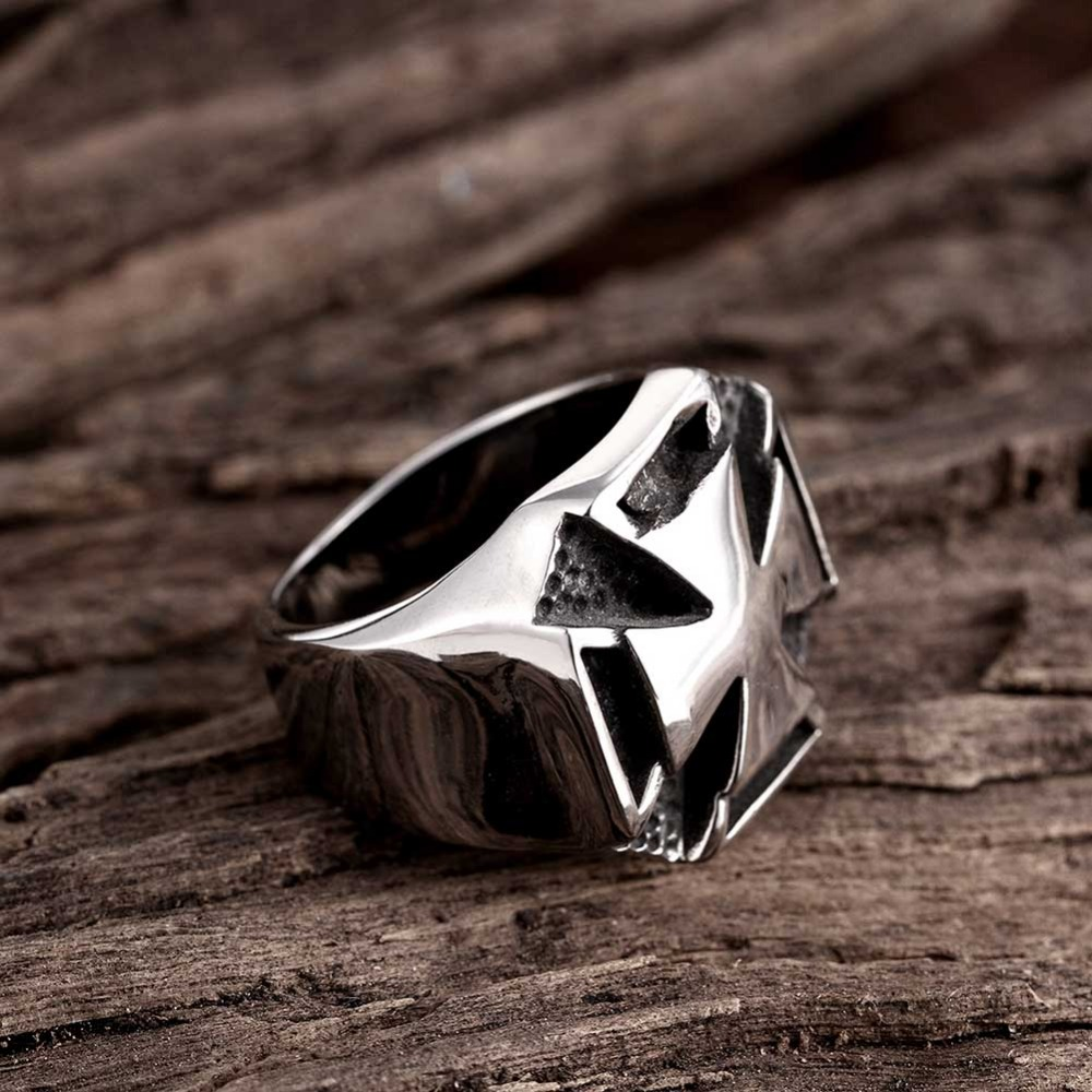 Classic accessories 925 sterling silver rings, ancient Maya punk ...