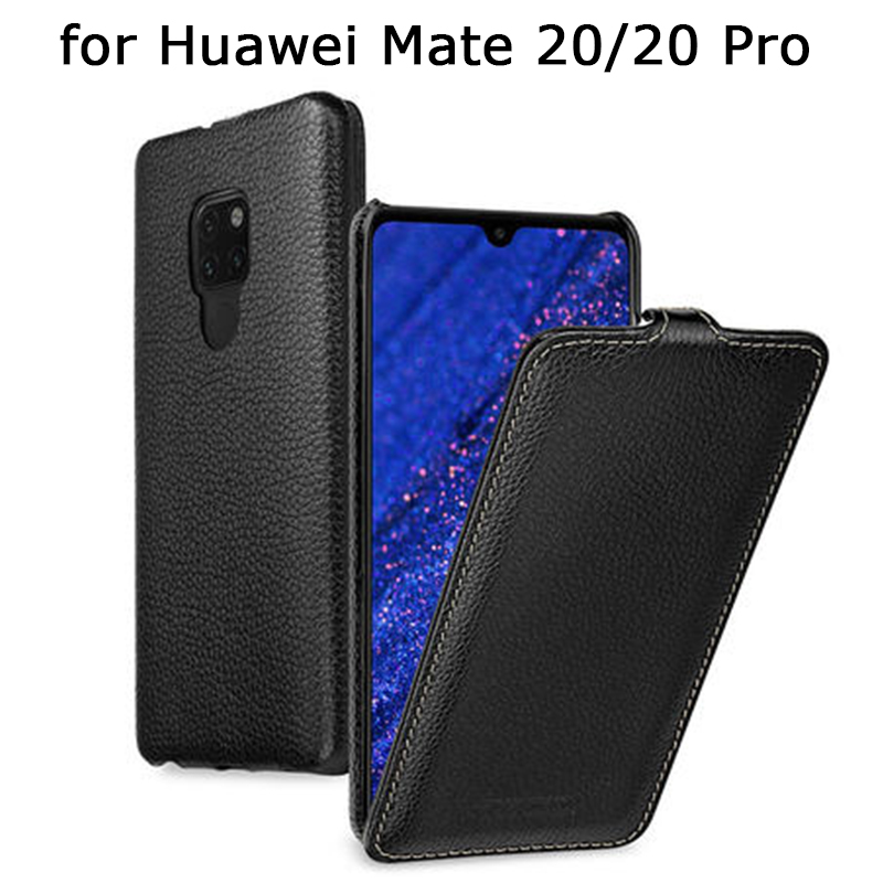 Luxury Genuine Leather Case for Huawei Mate 20 20Pro Business Flip Phone Cover Skin for Huawei