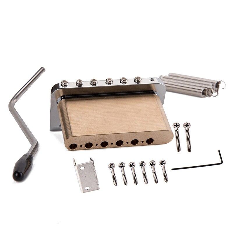 Guitare électrique trémolo système pont en acier inoxydable selles accessoires d'instruments de musique xr-hot - 5