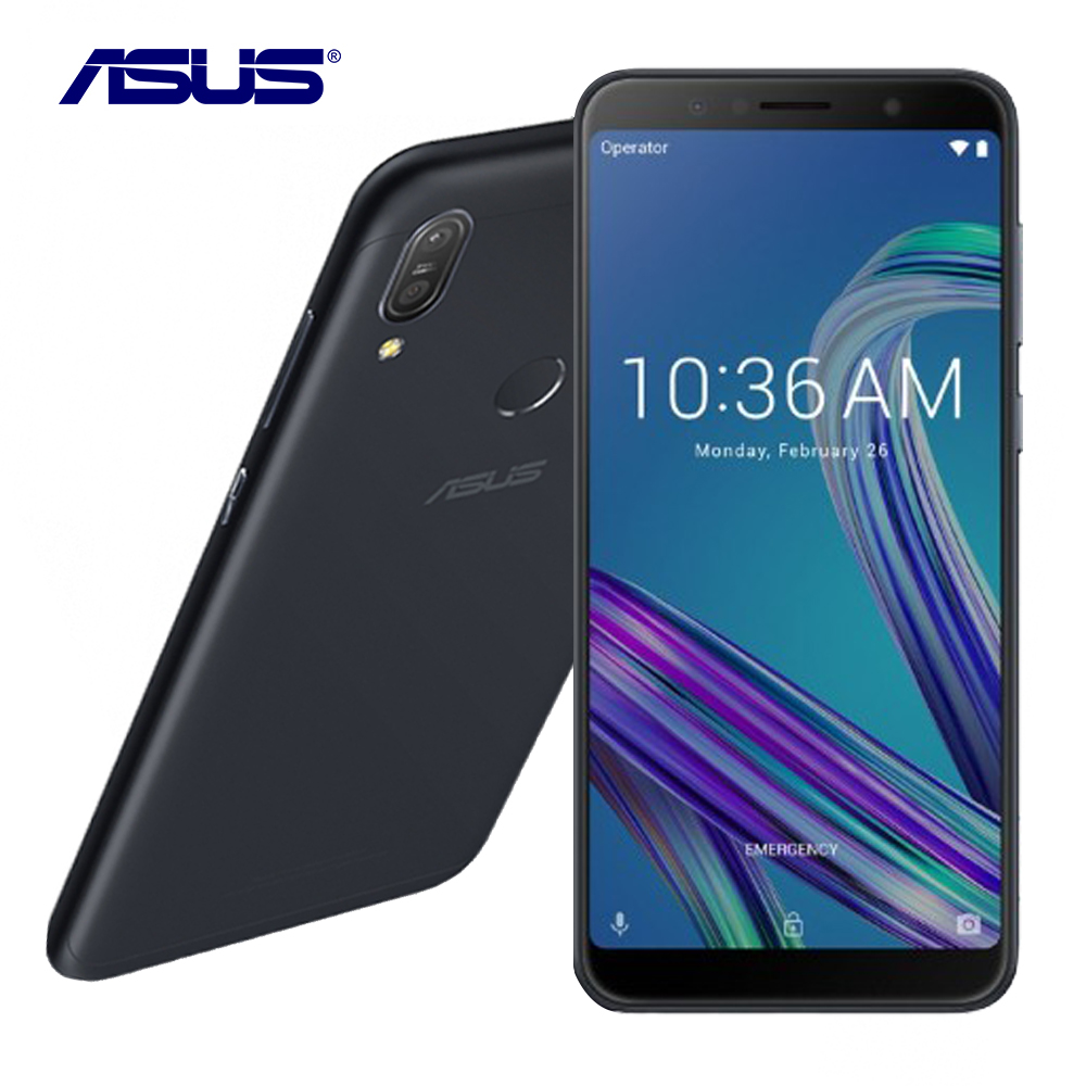 """New Asus ZenFone Max Pro (M1) ZB602KL Global Version 6G RAM 64G ROM 6.0"""" Octa Core 16MP Android 8.1 5000mAh Smart Mobile Phone"""