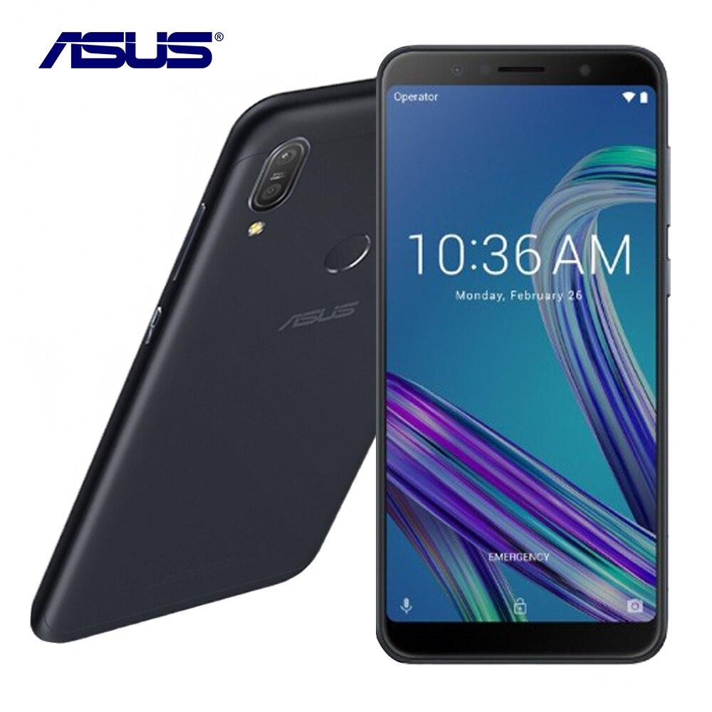 Nouveau Asus ZenFone Max Pro (M1) ZB602KL Mondial Version 6g RAM 64g ROM 6.0 Octa Core 16MP Android 8.1 5000 mah Smart Mobile téléphone