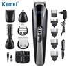 Kemei600 6 In 1 Hair Trimmer Titanium Hair Clipper Electric Shaver Beard Trimmer Men Styling Tools