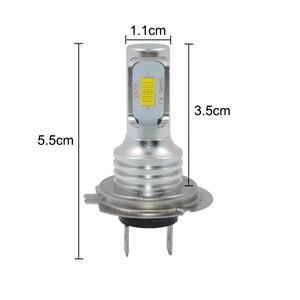 Image 2 - 1 زوج 72 واط H7 led أضواء السيارات 3000lm CANBUS LED لمبة الأبيض 6000 كيلو led سيارة مصباح أمامي للسيارة مصباح 12 فولت 24 فولت H7 كشافات السيارات التصميم