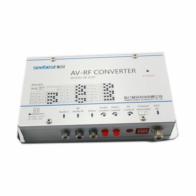 AV RF Go To Converter Audio Video Modulator