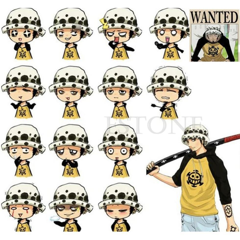 1 x One Piece Anime Cosplay Chapéu Médico Trafalgar Law Cap Presente do Dia  Das Bruxas.   . Coshome One Piece Luffy Amarelo Palhinha Praia Chapéus Tony  ... a9d4b4121dc