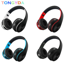 Bluetooth Headset TF FM Radio Wireless Headphones Earphone Headphone Earbuds Earphones With Microphone For PC mobile phone music
