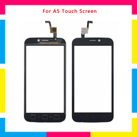 5Pcs/lot high quality Touch Screen Digitizer Sensor Outer Glass Lens Panel For Blackview A5 + Tracking code