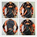 Hombres KTM offroad motocross racing jersey motocicleta ciclismo camiseta de manga larga jersey de primavera deportes Al Aire Libre de protección