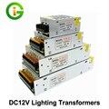 Transformadores de iluminación DC12V Alta Calidad LLEVÓ Las Luces Del Controlador para la Tira del LED fuente de Alimentación 60 W 100 W 200 W 300 W