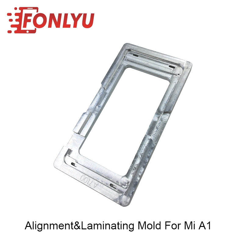 China CNC Cut Precision Mold Laminating Alignment Mould For Xiaomi MI A1 LCD Repairing in Power Tool Sets from Tools