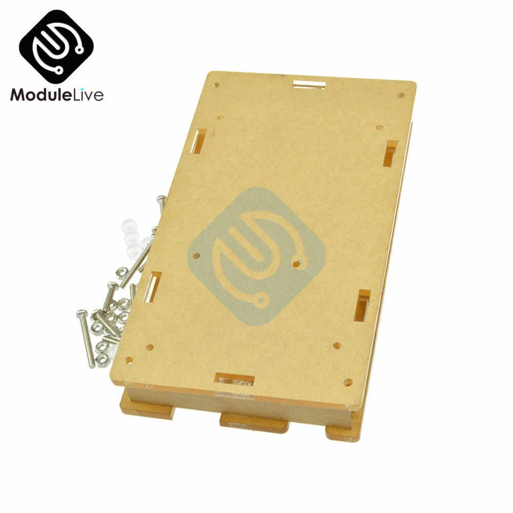 Smart electronics Mega2560 przezroczyste okno akrylowe powłoki kompatybilny z Arduino Mega 2560 R3 przypadku zestaw do samodzielnego montażu elektroniczny