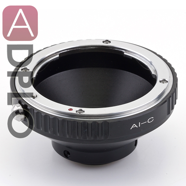 Lens adapter work for Nikon Lens to C film Mount Adapter Ring in Lens Adapter from Consumer Electronics
