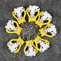 4 см 8 Шт./лот Каваи Мультфильм Аниме Сейлор Мун Q Версия ПВХ Фигурку Модель Игрушки Брелок Подарок для Детей кунаи пэт