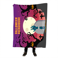 Halloween Throw Blanket Home Textiles Boho Tribal Sherpa Fleece Beds 130x150 manta