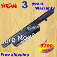 Special Price New 6 Cells Laptop Battery For CLEVO C4500 Series Replace C4500BAT 6 C4500BAT6