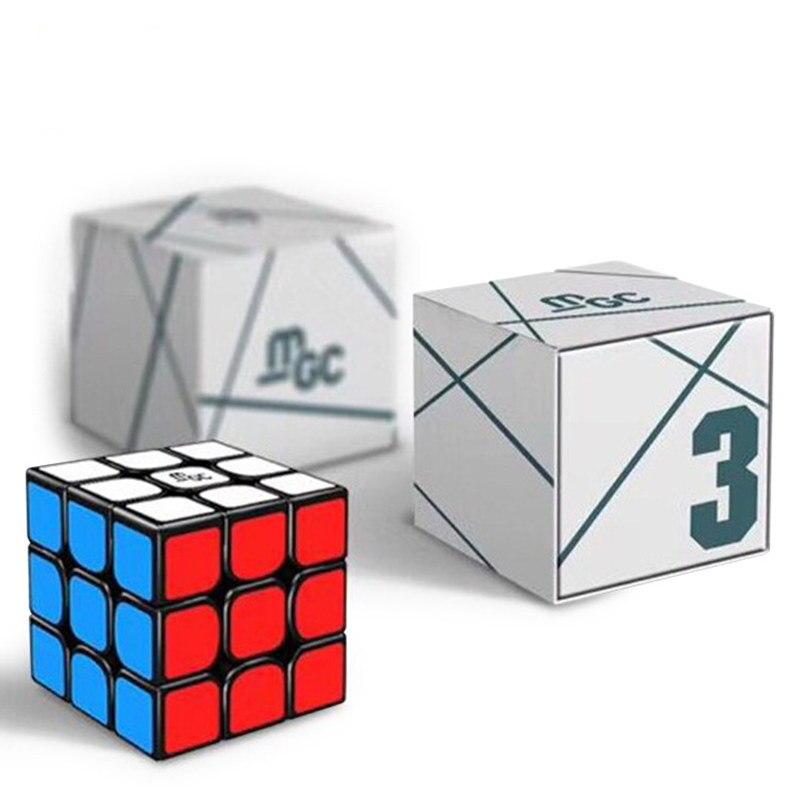 Met Goed Opvoeding Yongjun Mgc Magnetische Kubus 3x3x3 Mgc Magic Speed Cube 3x3 Puzzel Spel Cubo Magico Kampioenschap Door Magneten 3 Door 3 Kubus
