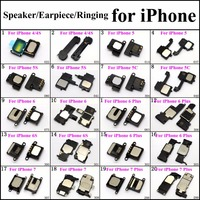 ChengHaoRan 20models Speaker/Earpiece/Ringing for iPhone 4 5 6 7 Plus Mobile Phone Repair Parts replacement wholesale Loudseaker