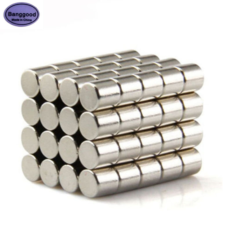 Lot 50pcs Round Strong Disc Cylinder 5x5mm Magnet N50 Rare Earth Neodymium Magnets