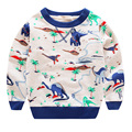 Hot Sale Baby Boys Girls Casual Hoodies Cartoon Dinosaur Sweatshirt Children Clothes Baby Kids Cotton Outwear WJ0292