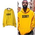 justin bieber fashion classic high street hiphop letters Purpose Tour yellow hooded men and women couple hoodies coat