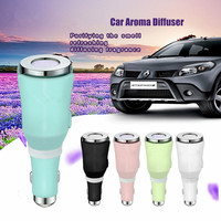 2017 NEW Mini Car Aroma Diffuser Humidifier Vehicle Air Purifier Essential Oil Aroma Diffuser Mist Maker