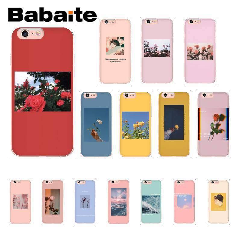 Half-wrapped Case Kind-Hearted Babaite Sailor Moon Anime Transparent Soft Shell Phone Cover For Apple Iphone 8 7 6 6s Plus X Xs Max 5 5s Se Xr Cellphones