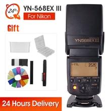 YONGNUO YN-568EX YN568EX III Flash Speedlite Speedlight TTL Auto 1/8000s For Nikon D5200 D3100 D750 D80 D90 D600 D650 D700 D60