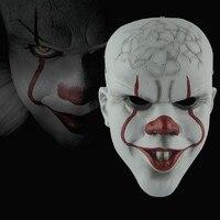 Movie Clown return mask Stephen King's Joker Pennywise Mask Full Face Horror Clown resin Halloween Party Hoorible Cosplay Masks