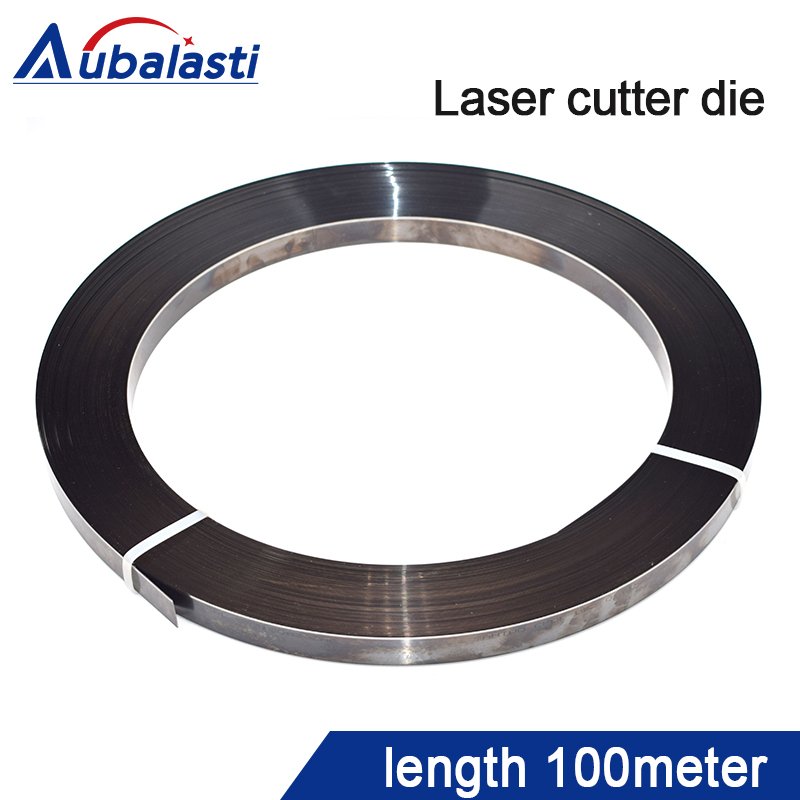 laser cutting die laser wood die cutter knife mold cuter blade 0 71x23 8mm length 100meter